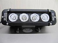 Светодиодная фара 40Вт. - 20 см. дальнего света LED GV 1040S - для квадроциклов. https://gv-auto.com.ua, фото 1