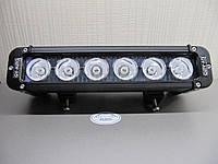 Светодиодная фара 60Вт. - 28 cм. дальнего света LED GV 1060S. https://gv-auto.com.ua, фото 1