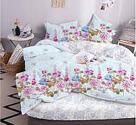 Семейный постельный комплект 320 Lovely Flower 70х70, ТЕП