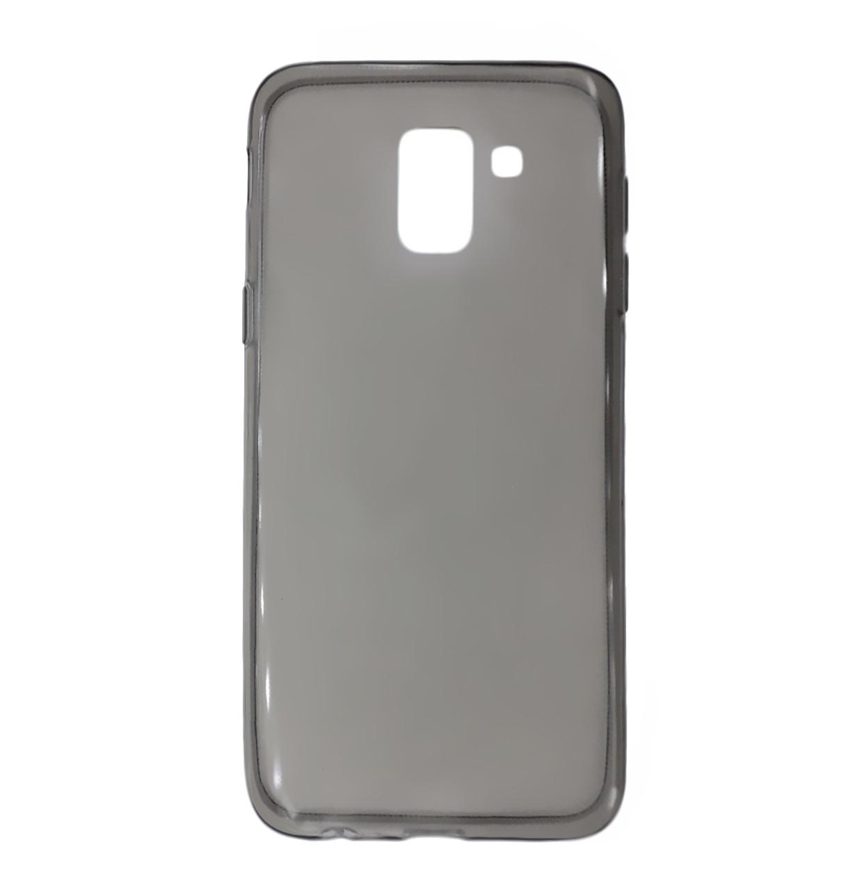 Силиконовая накладка Ultra-thin на Samsung Galaxy J6 (2018) SM-J600F Transparent Black