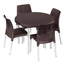 Комплект садовой мебели Keter Jersey set (5102)
