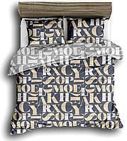 Комплект постельного белья двуспальный, 180*220, сатин, (620.17513)