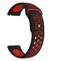 Ремешок ArmorStandart Sports для Huawei Watch GT Black/Red (467521)