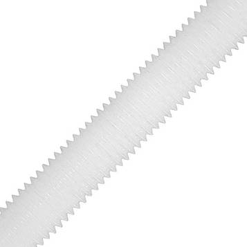 Шпилька полиамидная метрическая MMG  DIN 976  M4 х 1000 (Белая) 1 шт