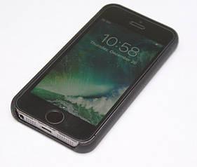 Apple iPhone 5S 16GB Space Grey Neverlock + скло + чохол