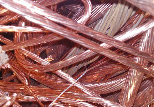 Медь (блестящая) металлолом