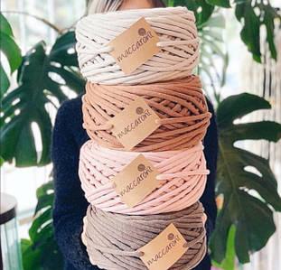 Трикотажный шнур Jumbo Cotton Cord 8 mm