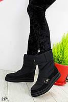 Женские ботинки зимние, дутики
