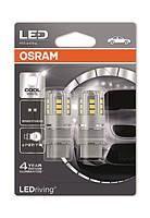 Лампы светодиодные Osram LEDriving PR27/7W LED 12V 2.5W 6000K W2.5X16Q (S8W DC) 3547CW-02B