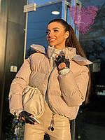 """Куртка женская зимняя с напылением, размеры 42-46 (2цв) """"NICOLE"""" купить недорого от прямого поставщика"""