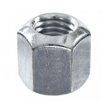 Гайка высокопрочная каленая высокая DIN 6330  M16 х 1.5  Класс 10 (Цинк) 1 шт