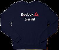 Свитшот реглан Reebok CrossFit (Premium-class) темно-синий