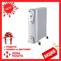 Масляный радиатор Maestro MR-951-9 | обогреватель для дома | батарея | тепловентилятор Маэстро, Маестро