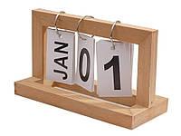 Календарь Shabby перекидной деревянный винтажный  Дерево
