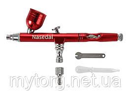 Аэрограф с соплом Nasedal 0,3 мм NT-130R1