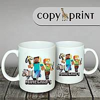 Чашка - Minecraft (Макет №2)