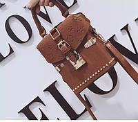 Женская Сумка клатч Louis Vuitton LV (реплика  луи витон) Brown