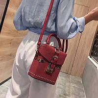 Сумка клатч Louis Vuitton LV (реплика  луи витон) red