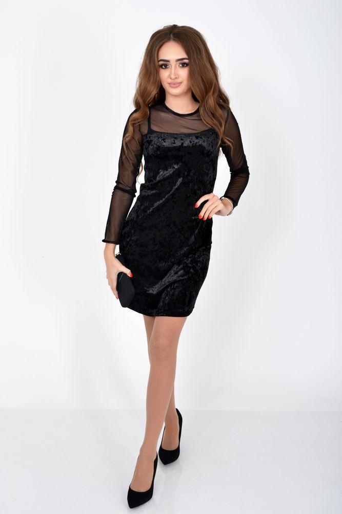 Платье цвет Черный размер 36