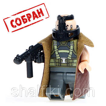 """Бэйн в дублёнке (DC)"" фигурка совместимая с Лего"