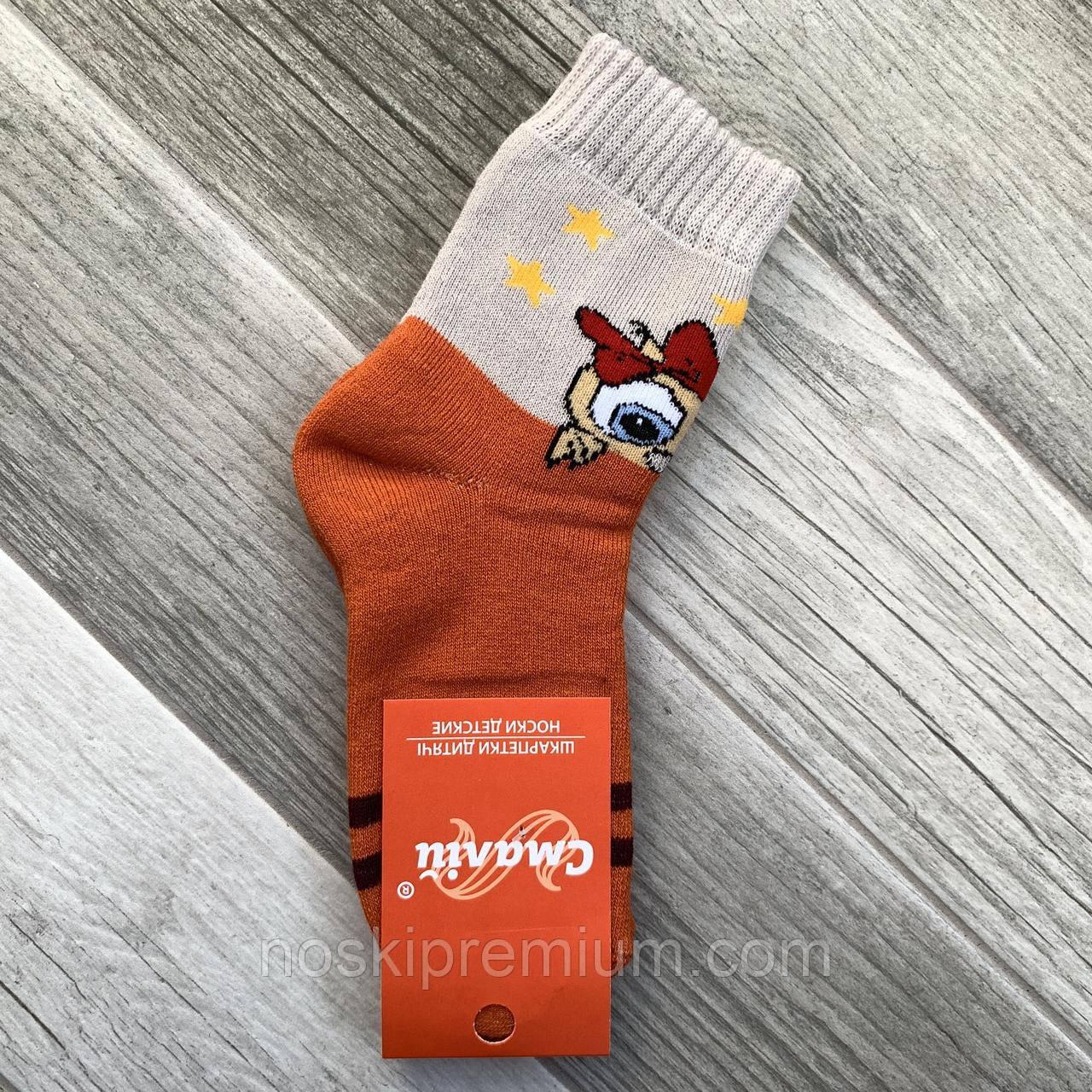 Носки детские х/б махровые Смалий, 16 размер, рисунок 41, 10503