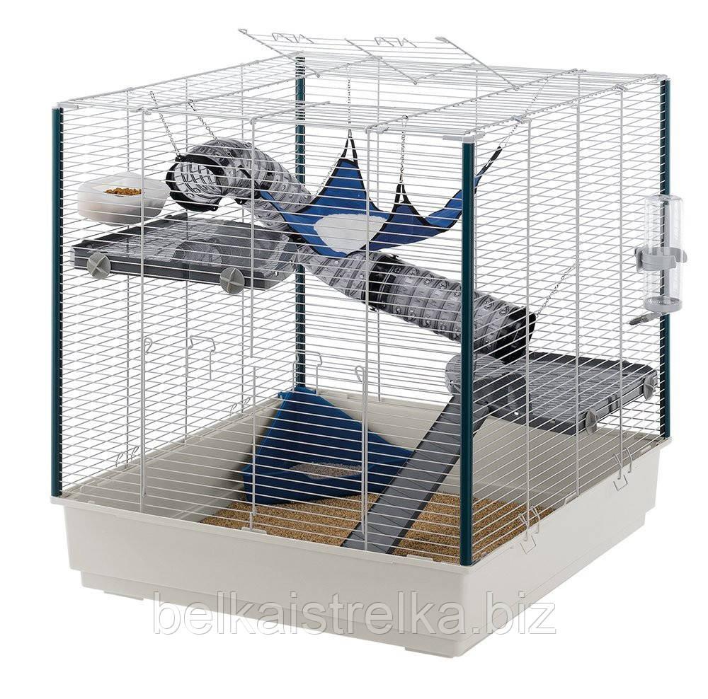 Клетка для хорька Ferpalst Furet XL, пластиковая, 80х75х86 см