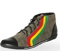 Мужская обувь из конопли