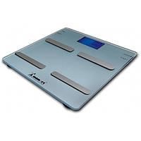 Весы электронные на стеклянной платформе 7 функций Momert
