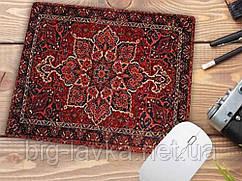 Коврик для мышки с узором Персидский ковер  Красный