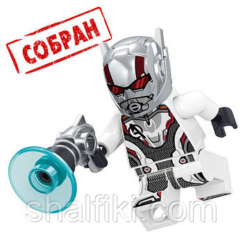 """""""Человек муравей в костюме Мстителей (Марвел)"""" фигурка совместимая с Лего"""