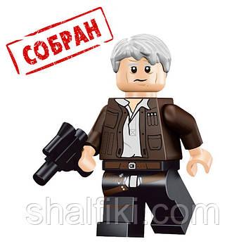 """""""Хан Соло (Звёздные войны)"""" фигурка совместимая с Лего"""