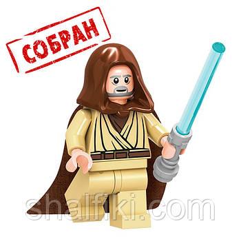 """""""Оби Ван Кеноби (Звёздные войны)"""" фигурка совместимая с Лего"""