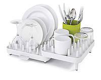Сушилка для посуды Joseph Joseph Extend раздвижная, органайзер для сушки посуды