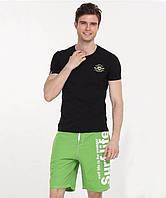 Пляжные зеленые шорты Gailang - №1151, фото 1
