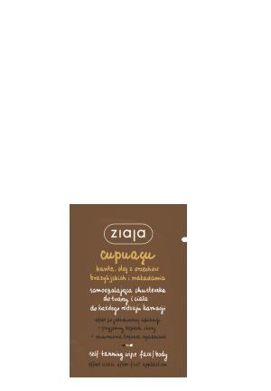 Автозагар - салфетки для  лица и тела, Cupuacu, Ziaja