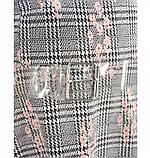 Платье женское с расклешенным подолом серое, фото 4
