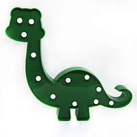 Ночник детский настенный Динозавр 33*26см (на батарейках) 15006