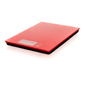 Весы кухонные 5 кг, разрешение 1 г. Red CULINARIA, Banquet
