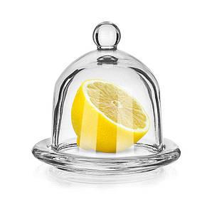 Подставка для лимона с крышкой 9,5 см. стеклянная LIMON, Banquet