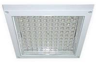 Светильник светодиодный AL184, LED9W(100/LED*0.06W) 230V 6400K-квадрат,белый (266*265*33mm)