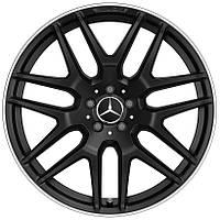 Оригинальные диски AMG на Mercedes-Benz Gl-class (x166), Gle (w166), Gls (x166) 2012 - (A16640128007X71) 10,5x21 5x112 ET46 DIA66,6