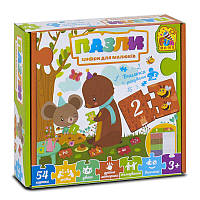Настольная игра Fun Game Пазли для малюків SKL11-228080