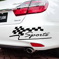 Наклейка на автомобиль Sport