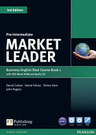 Market Leader 3rd Pre-Intermediate Flexi 1 + DVD + CD Coursebook Pearson
