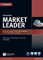 Market Leader 3rd Intermediate Flexi 2 + DVD + CD Coursebook Pearson