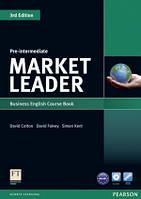 Market Leader 3ed Pre-Intermediate Coursebook + DVD Pearson