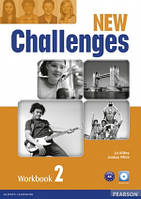 Challenges NEW 2 Workbook+CD-ROM Pearson