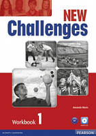 Challenges NEW 1 Workbook+CD-Rom Pearson