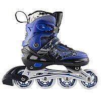 Роликовые коньки Nils Extreme NA0329A Size 34-37 Black-Blue - 227333