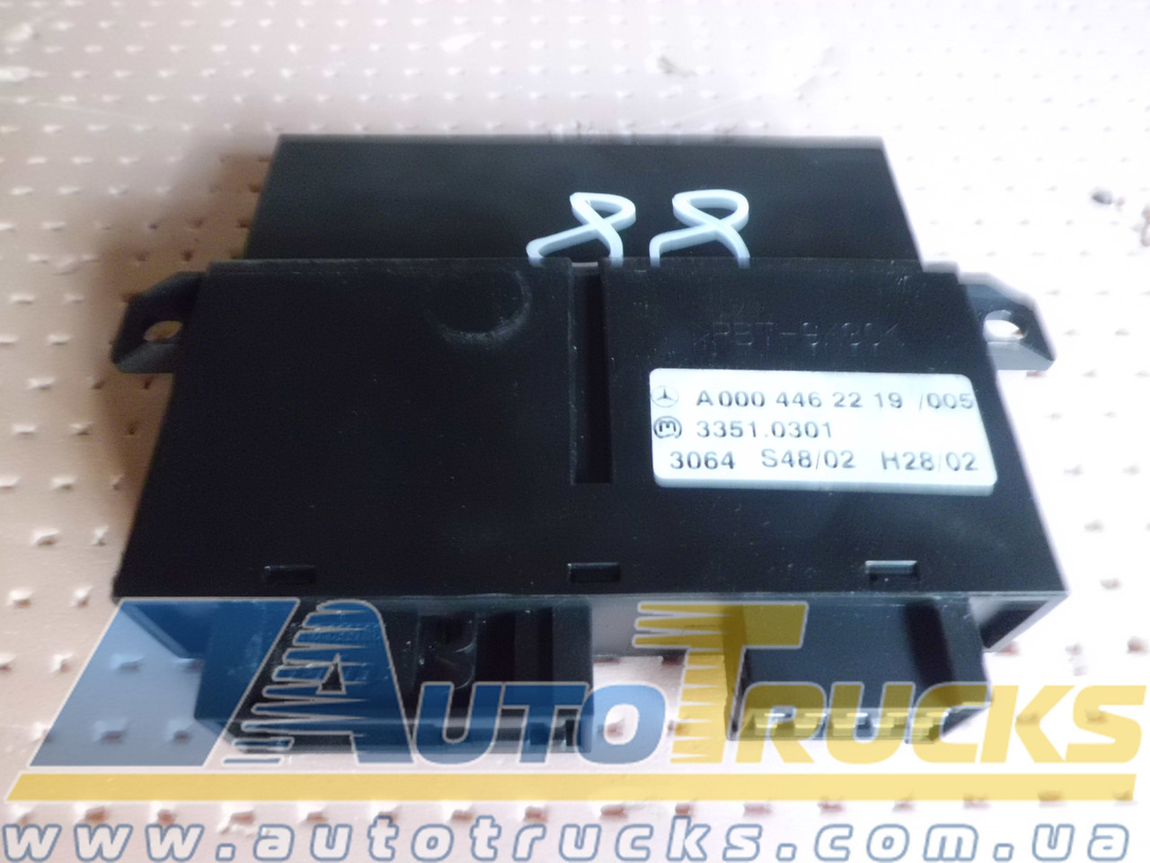 Блок управління MP2 Б/у для Mercedes-Benz Actros (0004462219)